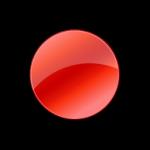 Запись Нормальный Красный Иконка