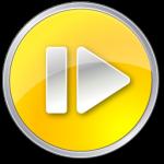 Шаг вперед Нормальный желтый значок
