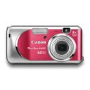 Powershot A430 Rouge icon