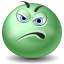 displeased icon