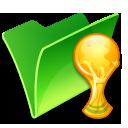folder trophy icon