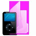 folder ipod black icon