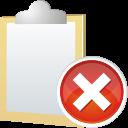 note remove icon