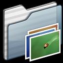Wallpaper Folder graphite icon