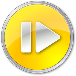 Step Forward Normal Yellow icon