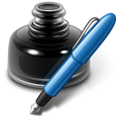 black pages icon